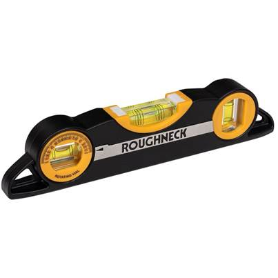 Roughneck Magnetic Torpedo Level 225mm (9in)