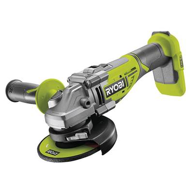Ryobi R18AG7-0 ONE+ Brushless Angle Grinder 18V Bare Unit