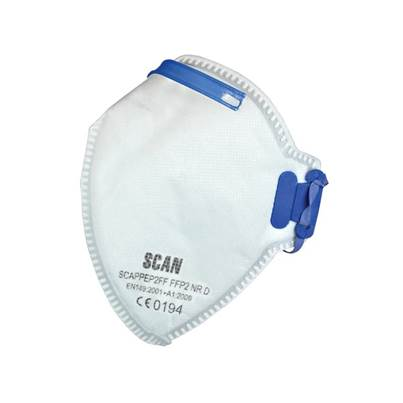 Scan Fold Flat Disposable Mask