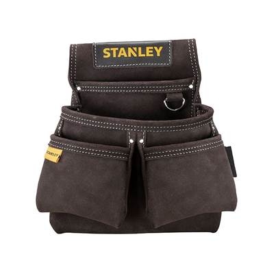 Stanley Tools STST1-80116 Leather Double Nail Pocket Pouch