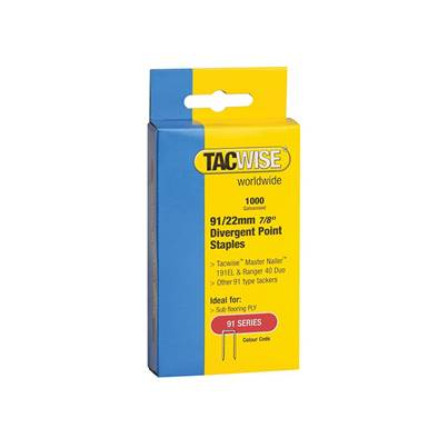 Tacwise 91 Series Staples