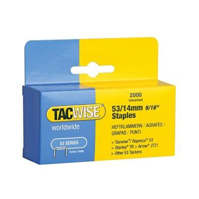 Tacwise 53 Series Staples