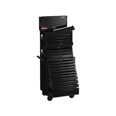 Teng 8 Series Stack System Black, 19 Drawer