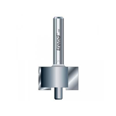 Trend 8D/3 x 1/4 TCT Pin Guide Rebater 12.7mm x 14mm