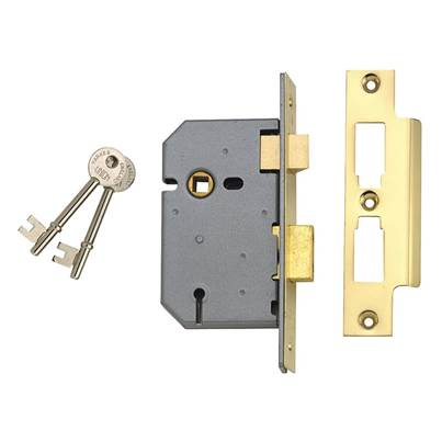UNION 2277 3 Lever Mortice Sashlock