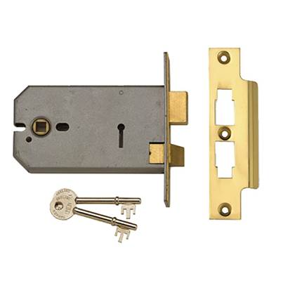 UNION 2077 3 Lever Horizontal Mortice Lock