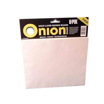 U-POL Onion Board Multi Layer Mixing Palette 1 Pack (100 Sheets)
