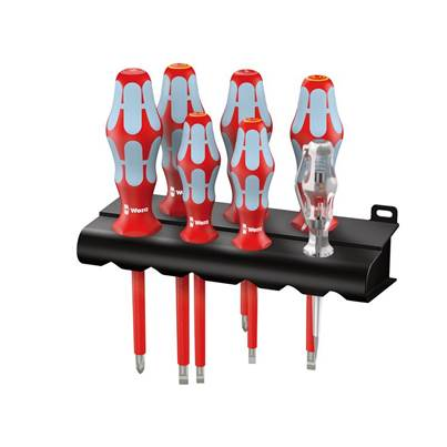 Wera Kraftform Plus VDE Stainless Steel Screwdriver Set of 7 SL/PH