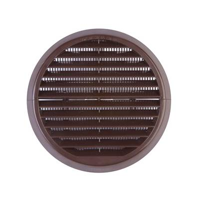 Xpelair Wall Grille Brown Round 100mm