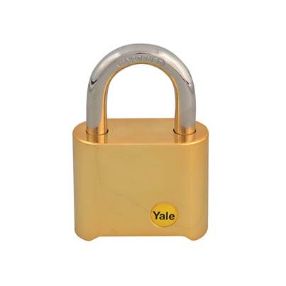 Yale Locks Y126 50mm Brass Combination Padlock