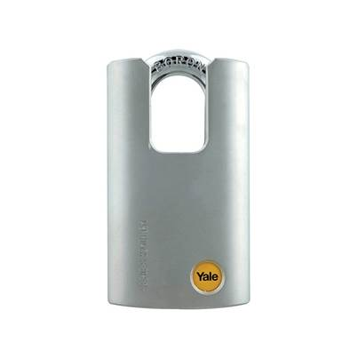 Yale Locks Y210 51mm Steel Padlock Closed Shackle