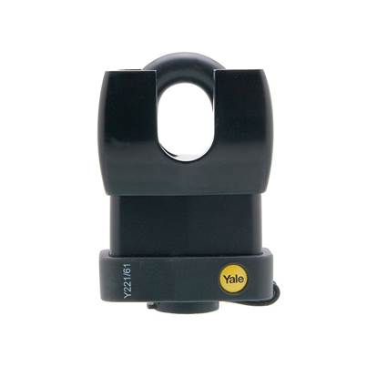 Yale Locks Y221 Weatherproof Padlock Closed Shackle