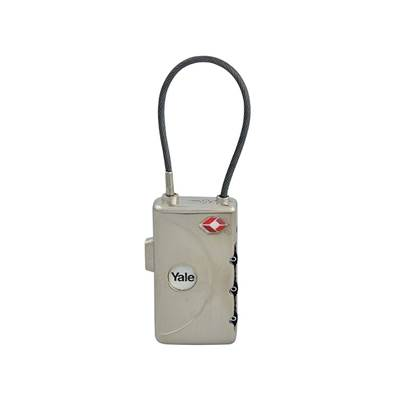 Yale Locks TSA Soft Shackle Combination Lock with ID Tag 30mm