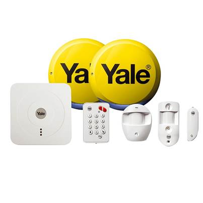 Yale Alarms SR-330 Smart Home Alarm & View Kit