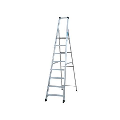 Zarges Industrial Platform Steps, Platform Height 1.26m 6 Rungs
